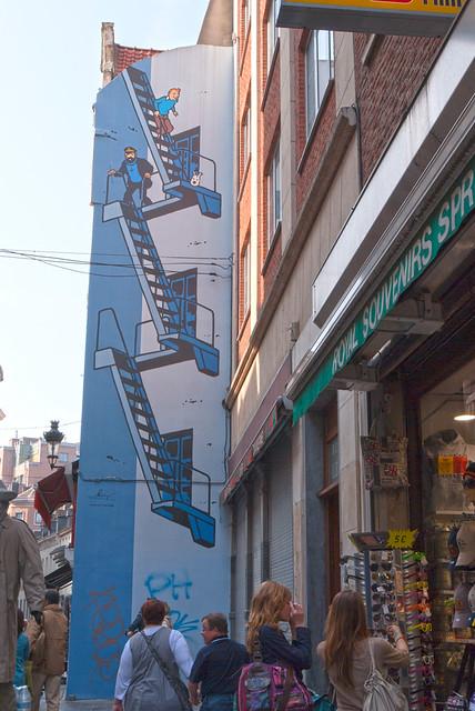 Mural de Tintín