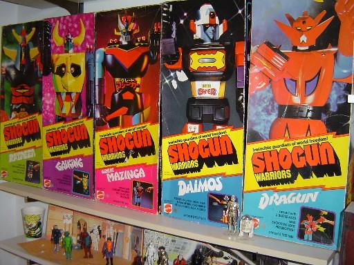 Shogun Warrior toys