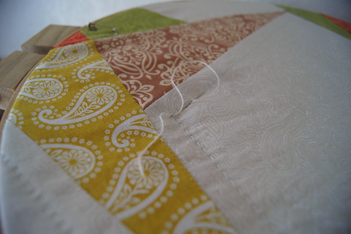 The Wedding Quilt Hand Quilting