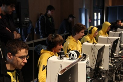 Na'Vi Dota2 team in action