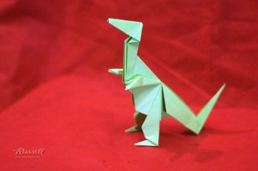 Origami Tyrannosaurus Rex (T-Rex)
