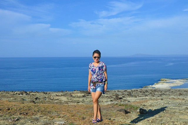 The blau-est backdrop I could ever find in Ilocos