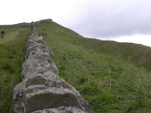 The ditch west of Steel Rigg