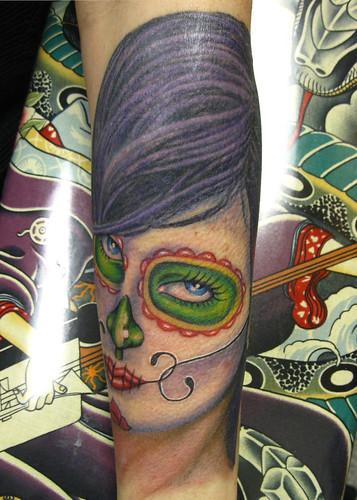 Dia Des Los Muertes Tattoo