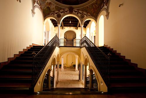 Interior del Palacio Episcopal de Málaga