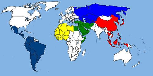 Regiones geopolíticas