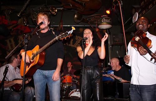 BURNS and friends 'Stockholm Sky' CD release @ Stampen, Stockholm, 2011 Oct 24 - #2