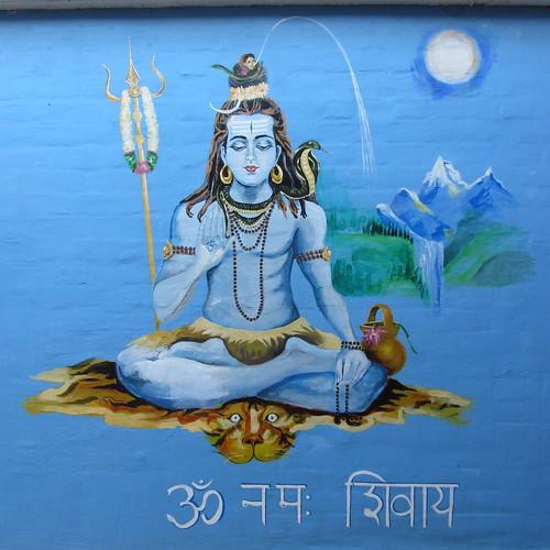 shiva mural