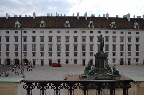 Patio del Palacio de Hofburg