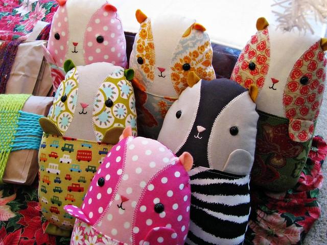 Guinea Pigs 'n Blankets