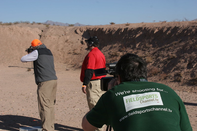David Wright in the Nevada desert