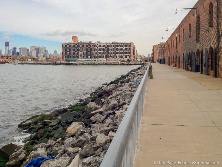 BWAC Pier in Brooklyn