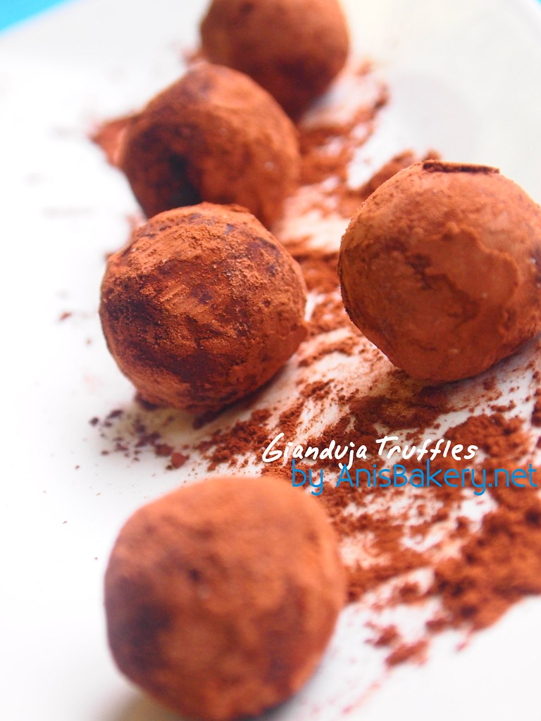 Gianduja Chocolate Truffles