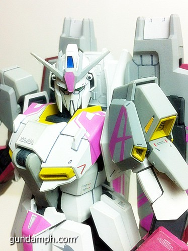 MG Zeta Karaba White Unicorn Painted Build (5)