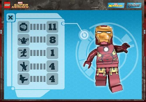 Iron Man Stats @ LEGO.com
