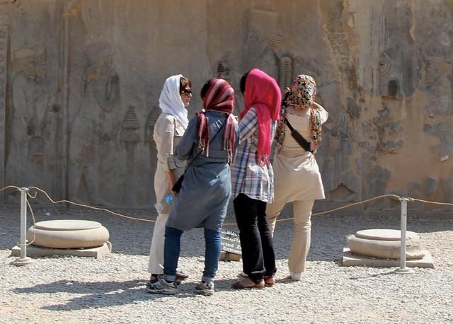 Ladies in Persepolis