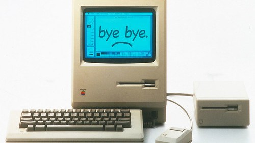 Bye bye Steve Jobs