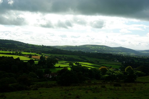 20110918-26_Glowering Clouds and a patch of Sun - Mendip Hills by gary.hadden