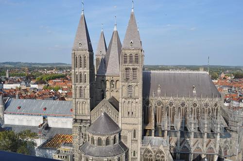 2011.09.25.211 TOURNAI - Beffroi - Cathédrale Notre-Dame de Tournai