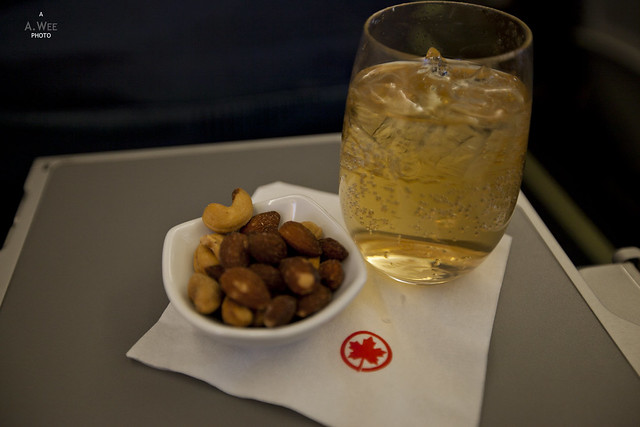 Nuts and Ginger Ale