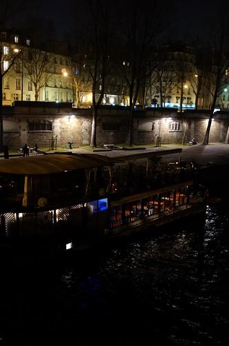 across the river seine