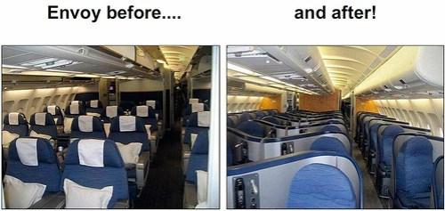 US Airways Envoy Suite Transformation