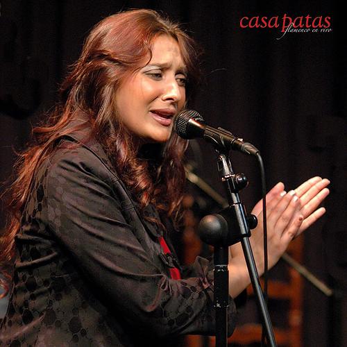 Mari Ángeles Fernández en Casa Patas. Foto: Martín Guerrero