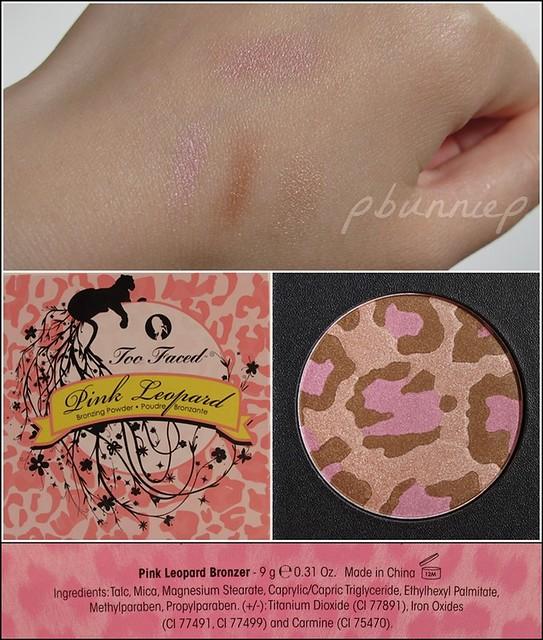 TooFaced Pink Leopard bronzer swatch2-vert