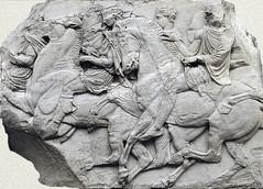 The Parthenon Frieze, Block N XLVI, photgrapher unknown
