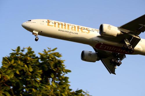 Boeing 777-300ER da Emirates @ SBGR