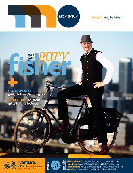 Gary Fisher Cover - Momentum Magazine Issue #54
