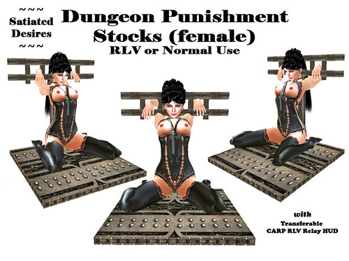 RLV Dungeon Punishment Stock (female)