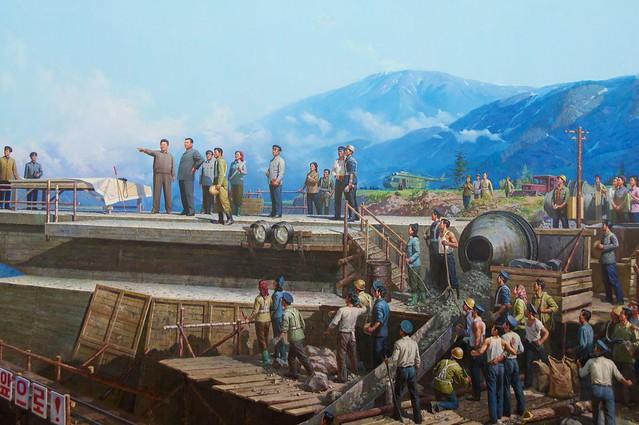 North Korean Diorama