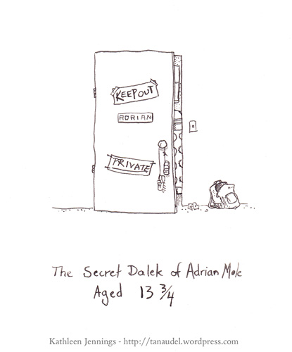 The Secret Dalek of Adrian Mole