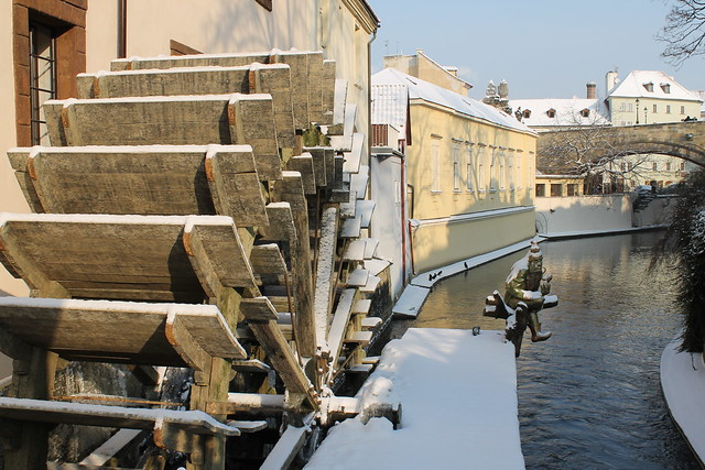 Grand Priory water mill on the Čertovka Kanal