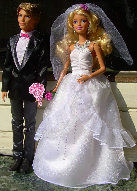 Barbie And Ken Bride And Groom 2 I Just Bought Them With