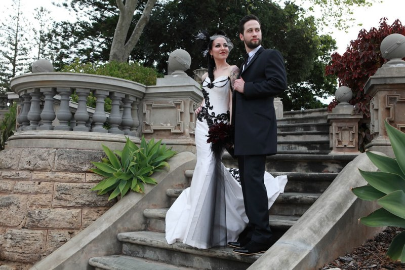 Tanya Ross Elegant Victorian Gothic Wedding Offbeat Bride