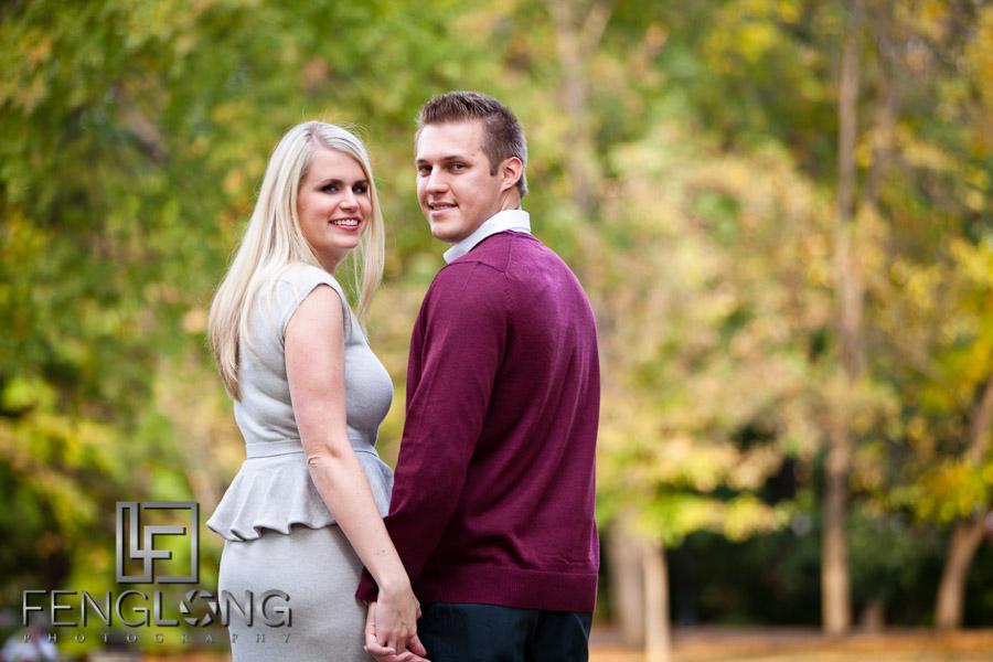 Michelle & Blake's Engagement Session | Piedmont Park | Atlanta Wedding Photographer