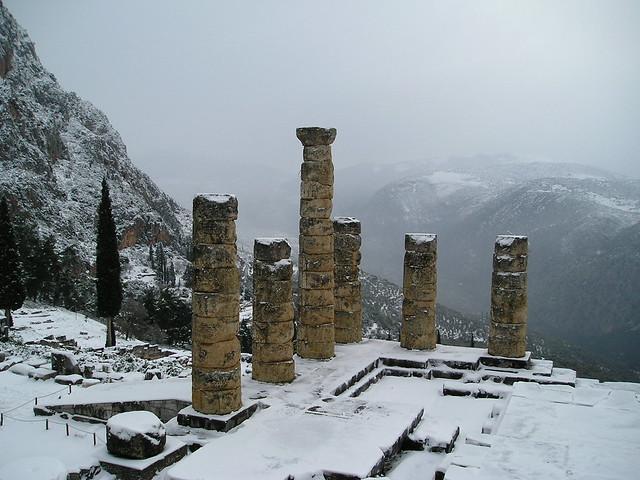 Delfos. Templo de Apolo