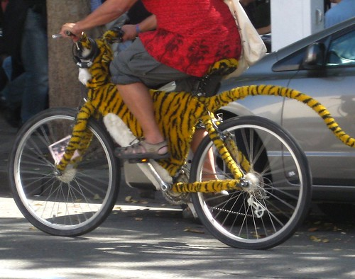 My Other Bike is a Tiger by dyannaanfang