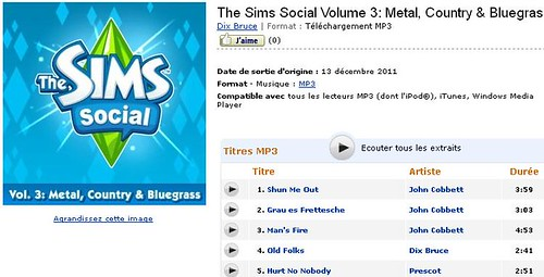 Buy Sims Social music on Amazon...