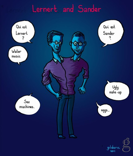 KIKK 2011 : Lernert & Sander (digital artists) - Illustration par Gilderic