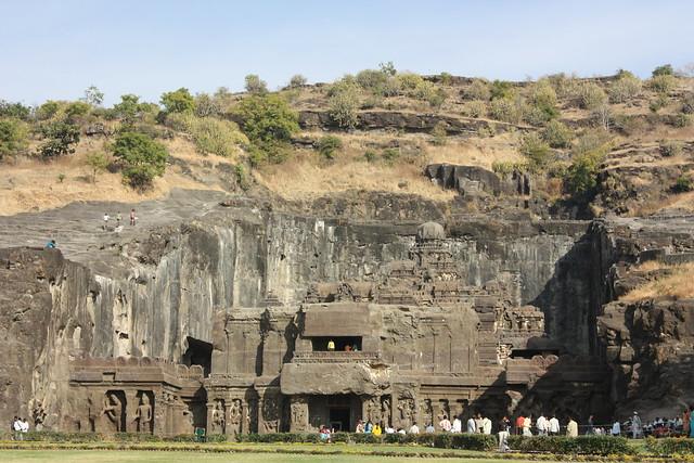 Ellora, cave 16, Kailasa Temple