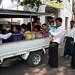 People in the streets of Mandalay, Myanmar / Burma