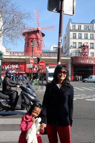 Moulin Rouge windmill