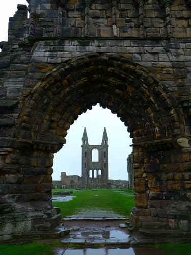 St Andrews Cathedral by bspoke_snaps