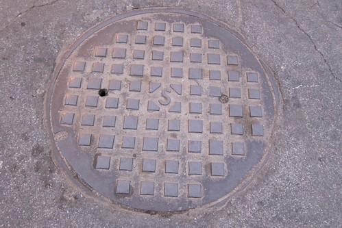 Salinas, California manhole cover