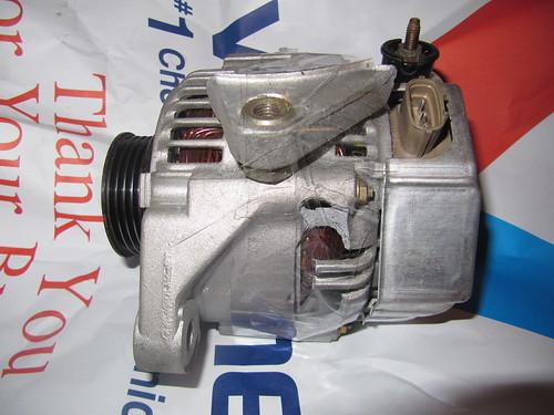 Cracked Alternator