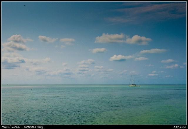 El mar Caribe desde los cayos