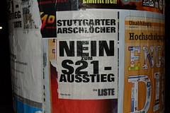 Stuttgarter Arschlöcher